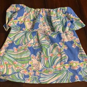 Lilly Pulitzer tube top